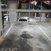 Indoor lot parking on Flemington Road in North Melbourne
