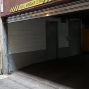Indoor lot storage on Flinders Street in Melbourne Victoria 3000
