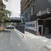Indoor lot parking on Franklin Street in Melbourne