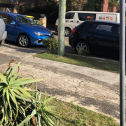 Outside parking on Frederick Street in North Bondi