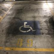 Indoor lot parking on George Street in Parramatta