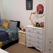 Bedroom storage on
