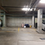 Garage parking on Gibbons Street in Redfern New South Wales 2016