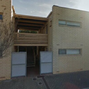 Outdoor lot storage on Gover Street in North Adelaide