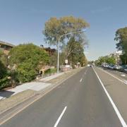 Garage parking on Great Western Highway in Parramatta
