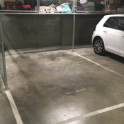 Indoor lot parking on Haines Street in North Melbourne