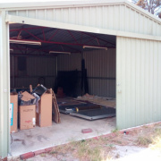 Garage storage on Hampton Square West in Morley