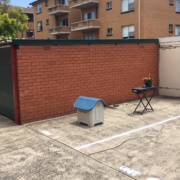 Outdoor lot storage on Hercules Road in Brighton-Le-Sands