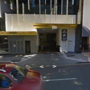 Garage parking on Herschel Street in Brisbane City