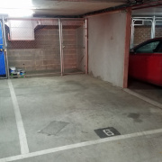 Indoor lot parking on Hillingdon Place in Prahran