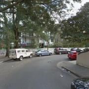 Outside parking on Holt Street in Newtown
