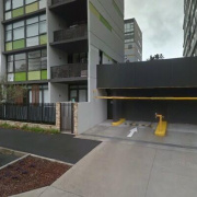 Garage parking on Hutchinson Walk in Zetland