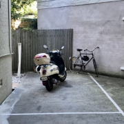 Driveway parking on