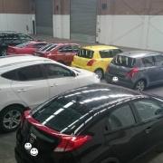 Indoor lot parking on International Drive in Westmeadows