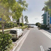 Indoor lot parking on Jean Wailes Avenue in Rhodes