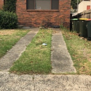 Driveway storage on Jersey Street in Marrickville New South Wales 2204