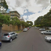 Outdoor lot parking on Kidman Street in Coogee