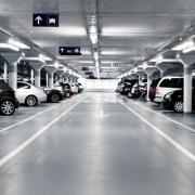 Indoor lot parking on La Trobe Street in Docklands