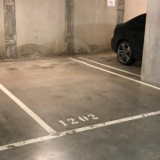 Indoor lot parking on La Trobe Street in Melbourne