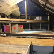Attic storage on