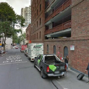 Garage parking on Lonsdale Street in Melbourne
