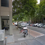 Indoor lot parking on Lonsdale Street in Melbourne