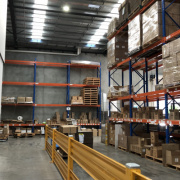 Warehouse storage on Lorimer St in Port Melbourne