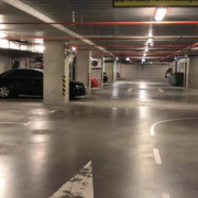 Indoor lot parking on Lorimer Street in Docklands