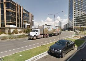 Great parking space in Docklands...jpg
