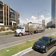 Undercover parking on Lorimer Street in Docklands