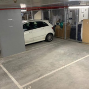 Indoor lot storage on