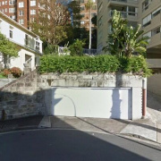 Outdoor lot parking on MacLeay Street in Potts Point