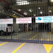 Garage parking on Marmion Place in Docklands