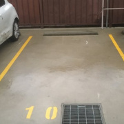 Outdoor lot storage on