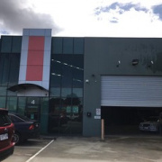 Warehouse parking on Melverton Drive in Hallam Victoria