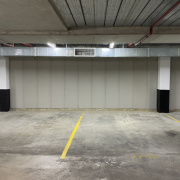 Indoor lot parking on Miller St in North Sydney