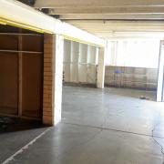 Basement storage on