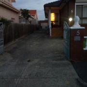 Driveway parking on Norman Street in Coburg
