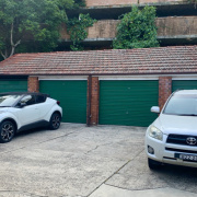 Outside parking on Ocean Avenue in Double Bay New South Wales 2027