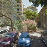 Garage parking on Ocean Street North in Bondi