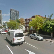 Driveway parking on Old South Head Road in Bondi Junction