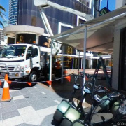 Undercover parking on Orchid Avenue in Surfers Paradise