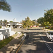 Driveway parking on Paradise Island in Surfers Paradise