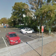 Garage parking on Park Rd in Hurstville