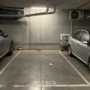 Indoor lot parking on Pickles Street in Port Melbourne