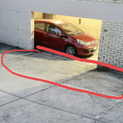 Outside parking on