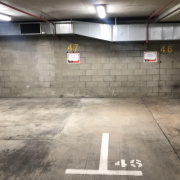 Garage parking on