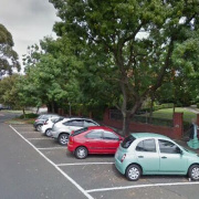 Outdoor lot parking on Robe Street in St Kilda
