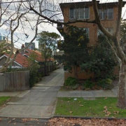 Outdoor lot parking on Rockley Rd in South Yarra
