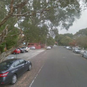 Outdoor lot parking on Rosalind Street in Cammeray